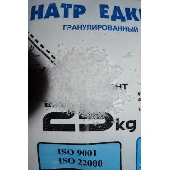 Сода каустическая гранула Россия (уп. 1 кг)