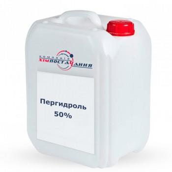 Пергидроль для бассейна 50% (канистра 10 кг)