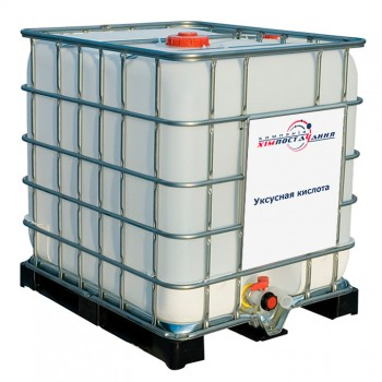 Уксусная кислота в кубе 1050 кг