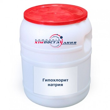 Гипохлорит натрия, натрий хлорноватистокислый