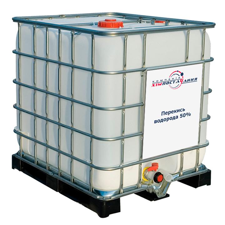 Перекись водорода 50 % (пероксид водорода, пергидроль, гидроперит) гост 177-88 по 1050 кг